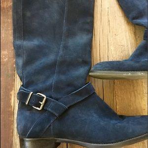 J Crew wide calf suede boots